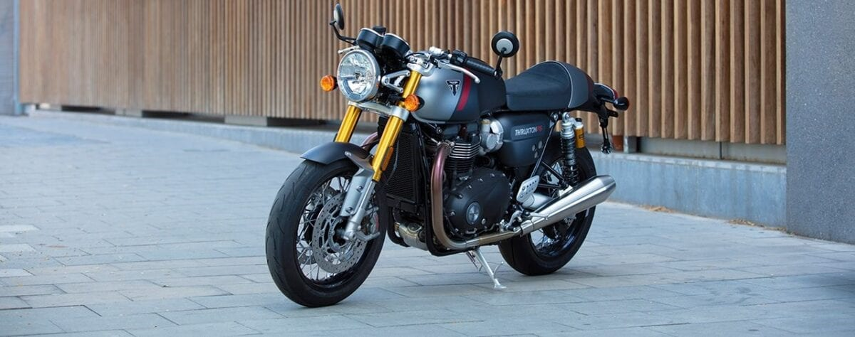 The Thruxton RS for 2020. More power, less weight and all-round a bit more trick of a motorcycle.