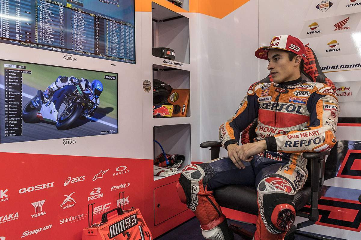Marquez is being released from hospital within the next 36 hours.