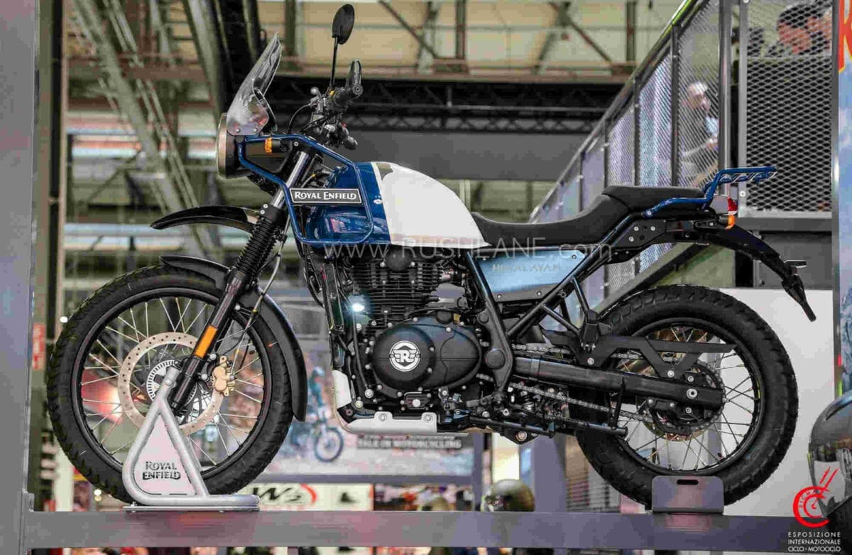 New colours for Royal Enfield's Himalayan