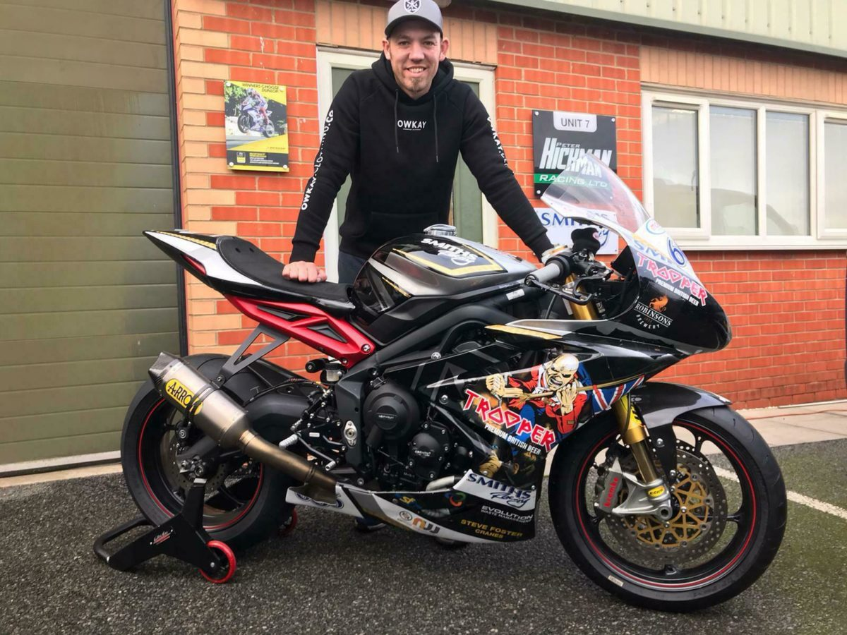 Peter Hickman's Triumph Daytona 675R TT racer from 2017 is up for SALE. And YOU can OWN it.