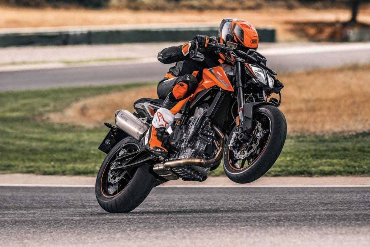 KTM's 790 Duke. Production moves to China as part of joint venture with CFMoto.