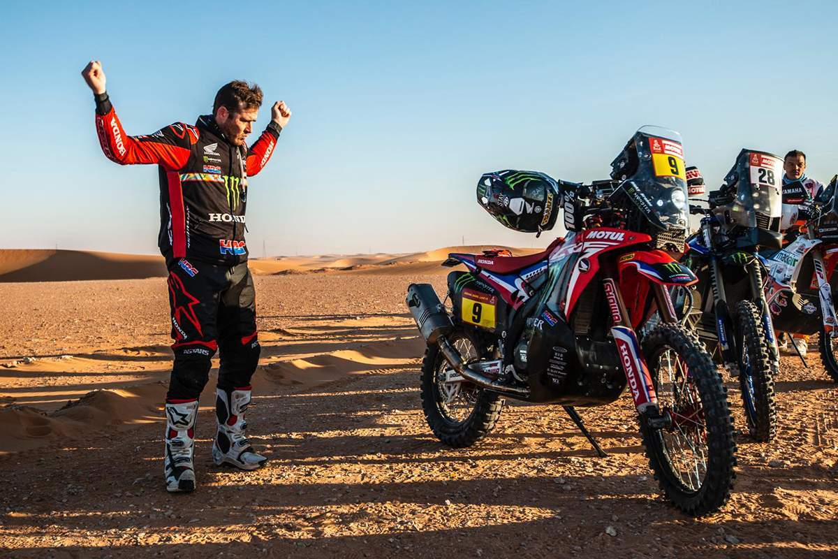 Honda WINS the Dakar Rally for the first time since 1989 with Ricky Brabec ending KTM's 18 year winning streak.