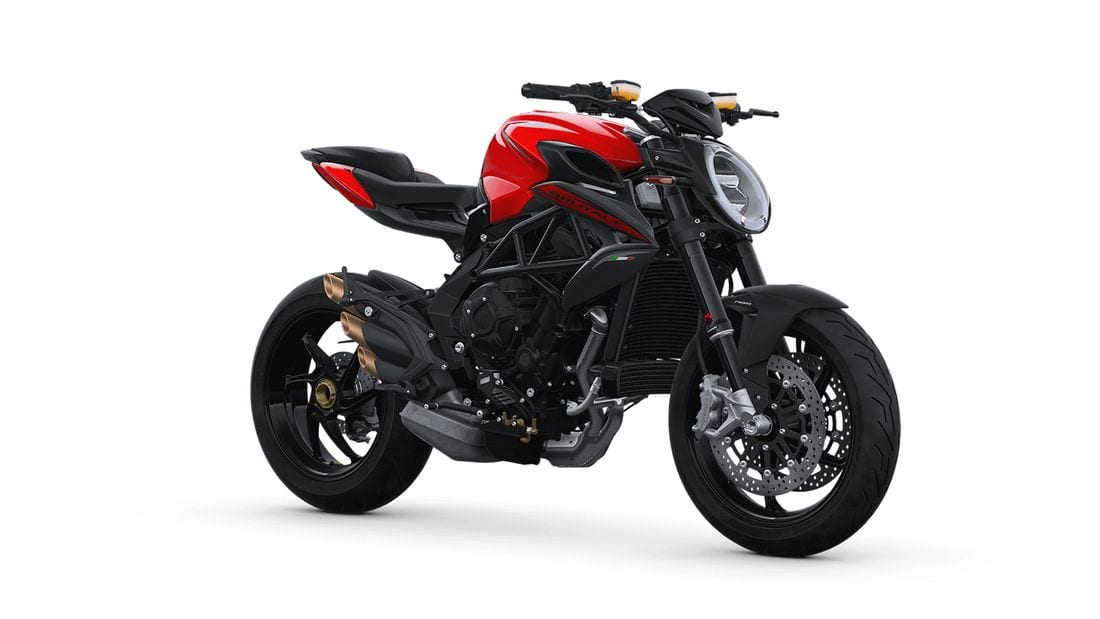 MV Agusta reveals TWO A2-licence motorcycles. Restricted F3 675 and Brutale 800 Rosso available for 2020.