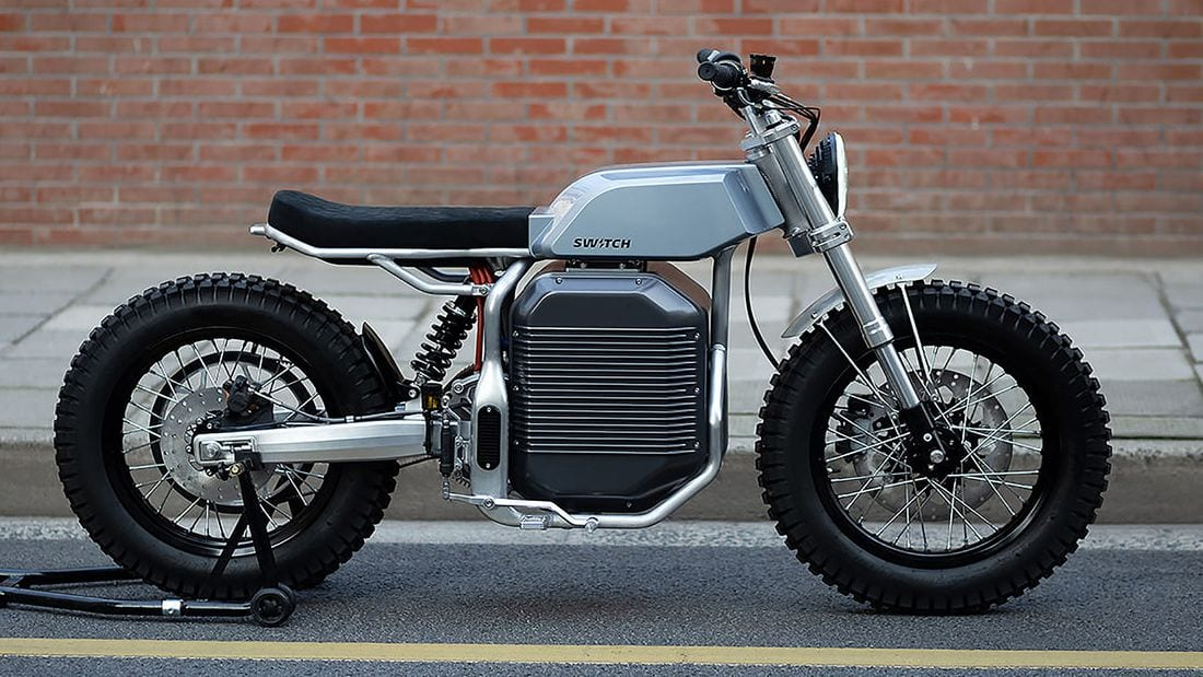 Switch Motorcycles eScrambler concept. Coming for 2022.
