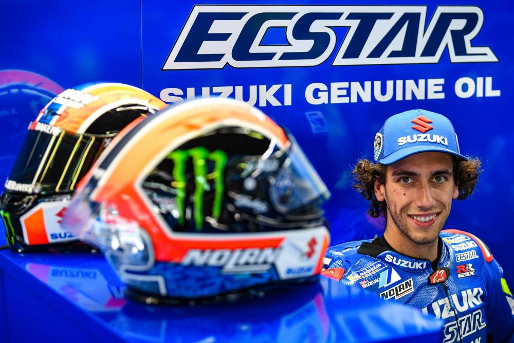 MotoGP: Alex Rins signs Suzuki contract for 2021 and 2022