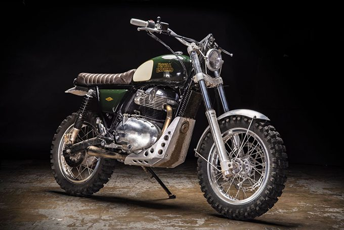 RUMOURED Royal Enfield's working on a 650cc scrambler