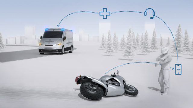 Bosch reveals CRASH detection technology for motorcycles