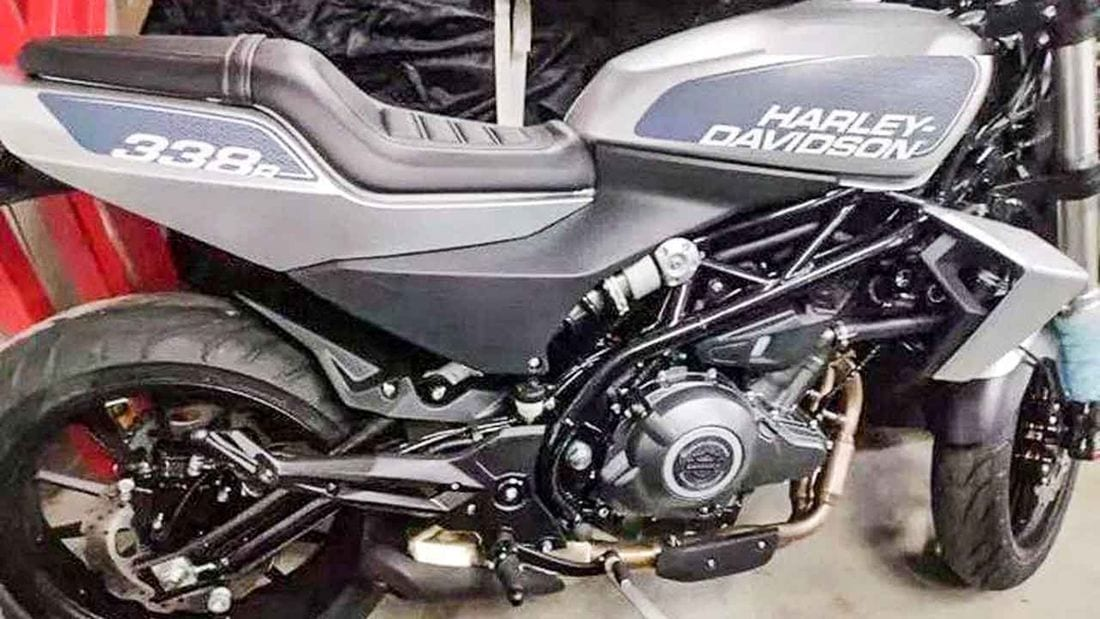 SPY SHOT: First LOOK at Harley-Davidson's 338R. The Chinese-built roadster is coming.