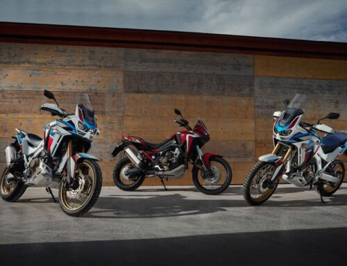 Honda Africa Twin – ridden on road & dirt