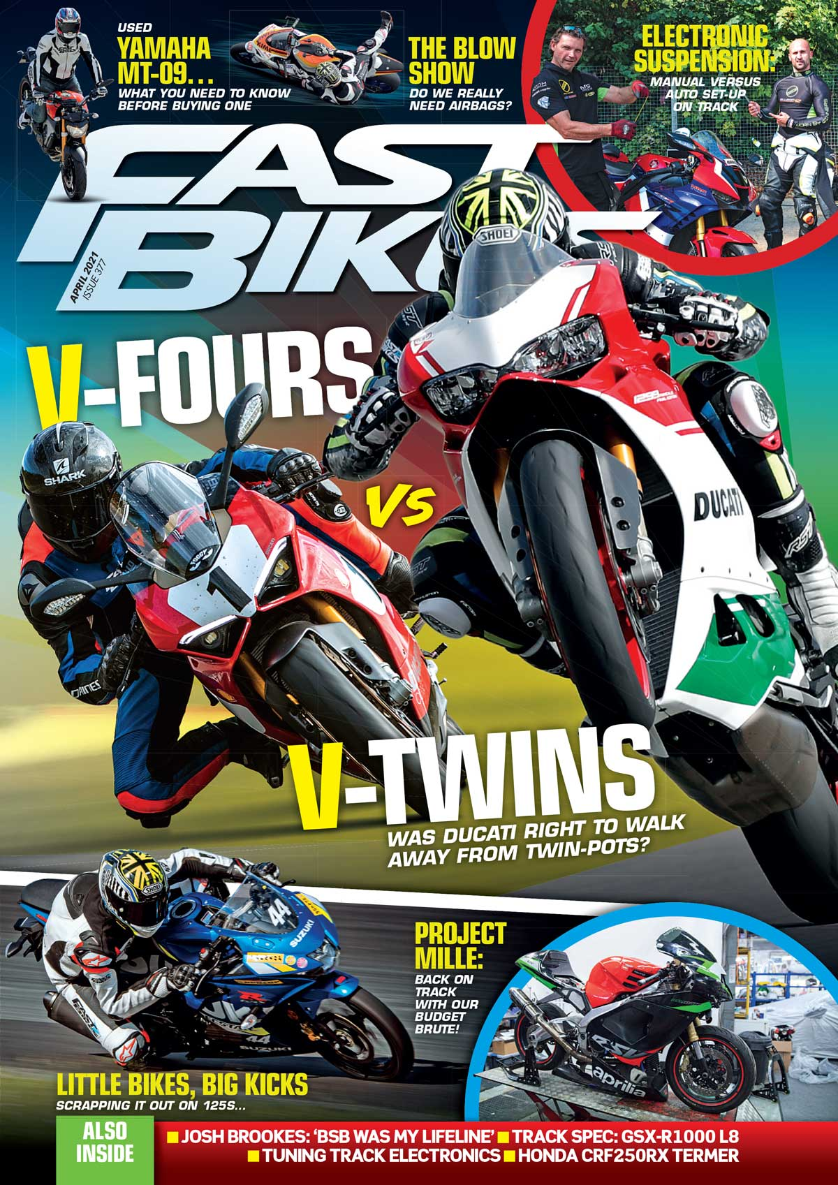 Fast Bikes April issue