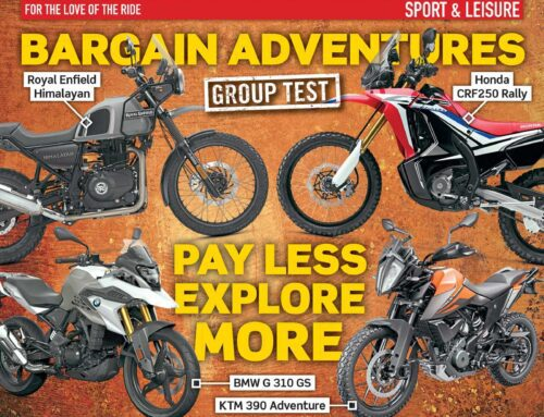 PREVIEW: April issue of Motorcycle Sport & Leisure magazine