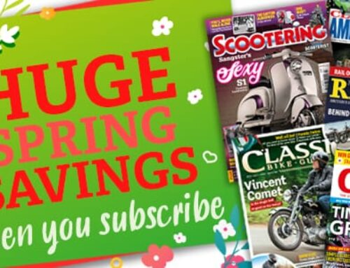 SPRING SALE | Save money across range of motorcycle magazines!