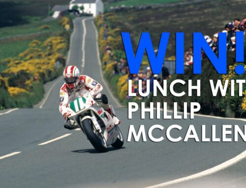 Win lunch at Stafford with TT legend Phillip McCallen!