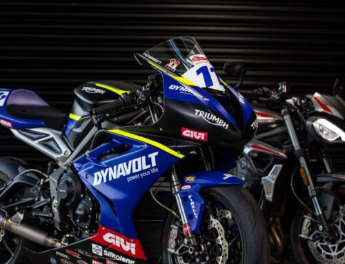 BSB: The DYNAVOLT Triumph Street Triple 765 RS