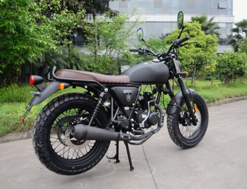 WK Bikes reveals retro-inspired Scrambler 50