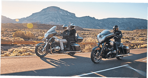 BMW's R 18 Transcontinental and R 18 B on the road