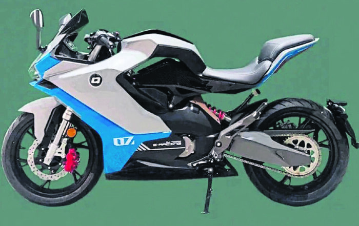 Benelli's first electric motorcycle