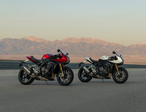 THE NEW SPEED TRIPLE 1200 RR