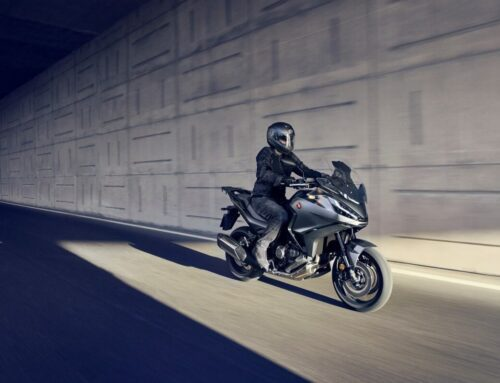 Honda's new sport touring twin: the NT1100