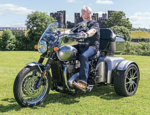 BSH welcomes war hero Simon Weston CBE in journey to getting on the road