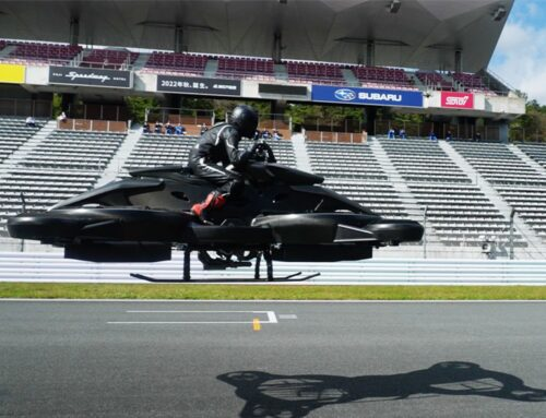 XTURISMO: Japanese start-up unveils £495,000 hoverbike