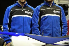 Ashley Wilde and Elliott Banks Browne sign for Geartec Yamaha