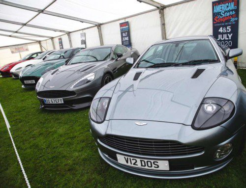 ASTON MARTIN STEALS THE SHOW AT TATTON PARK PASSION FOR POWER!