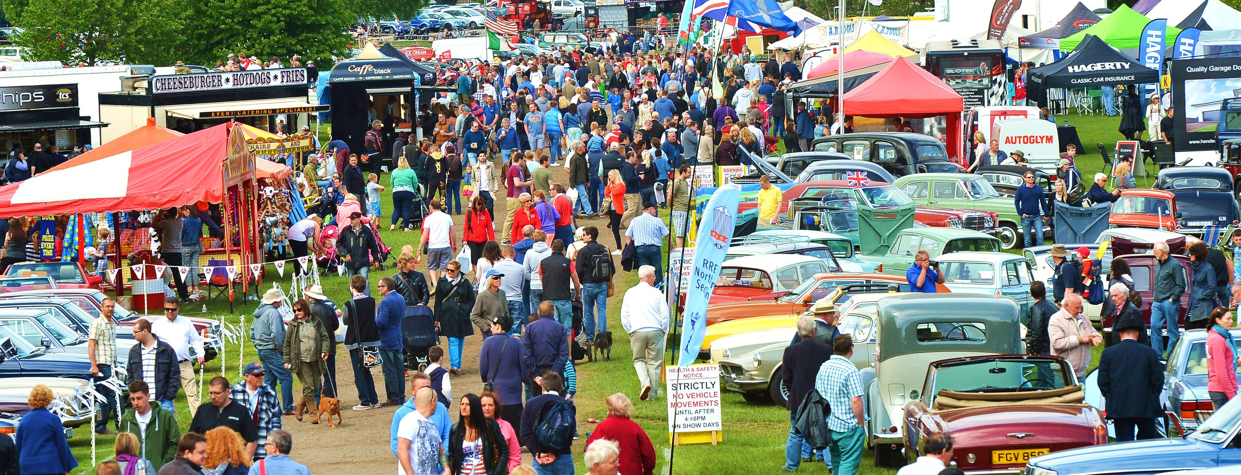 The Classic Car Show Crowds