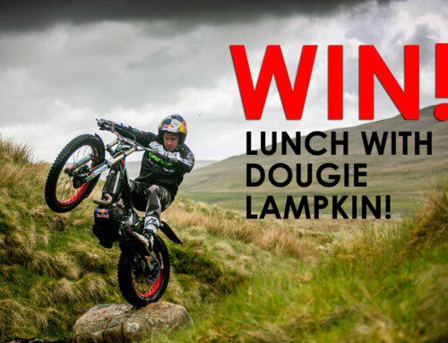 WIN LUNCH AT STAFFORD WITH 12 TIMES WORLD CHAMPION DOUGIE LAMPKIN